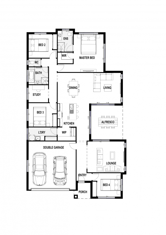 Blue Aspect 26 Floorplan