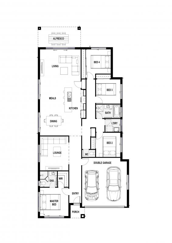 Blue Vista Floorplan
