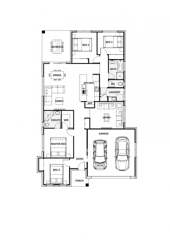 Blue Amazon 22 Floorplan