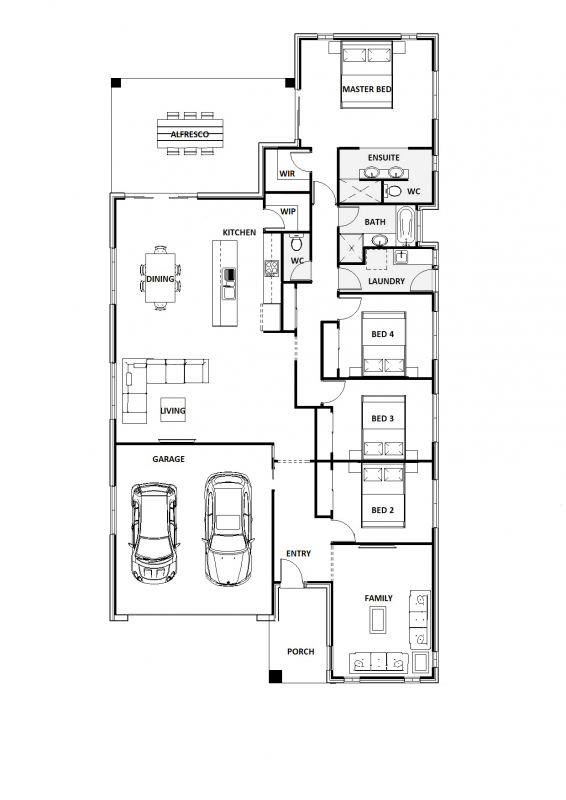 Blue Berry 29 Floorplan