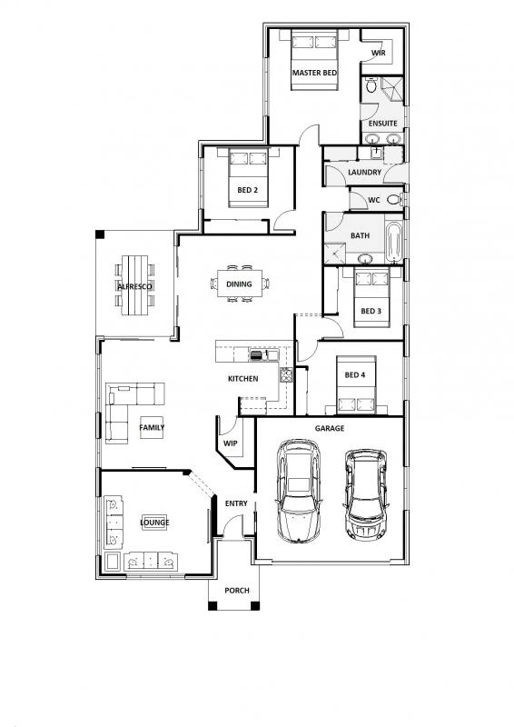 Blue Cedar 26 Floorplan