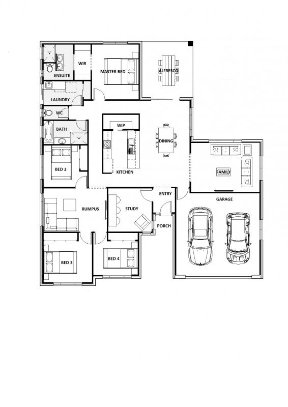 Blue Daze 26 Floorplan