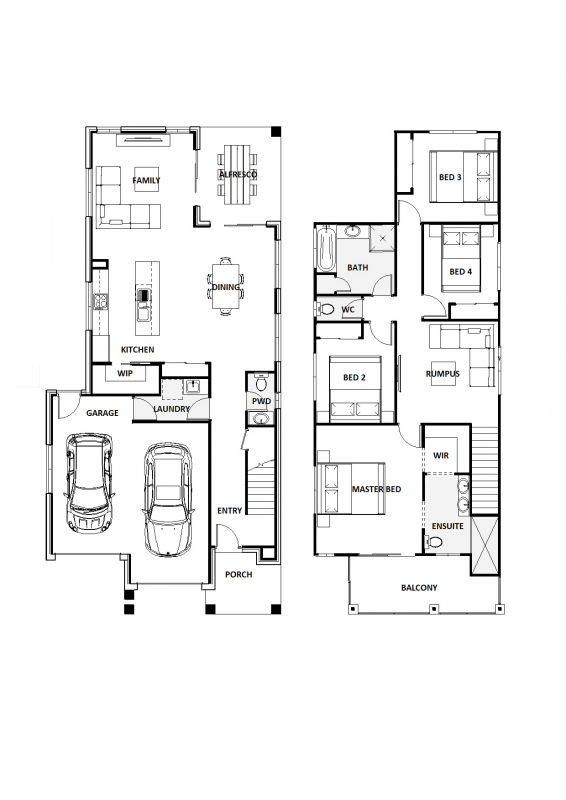 Blue Fresno 27 Floorplan