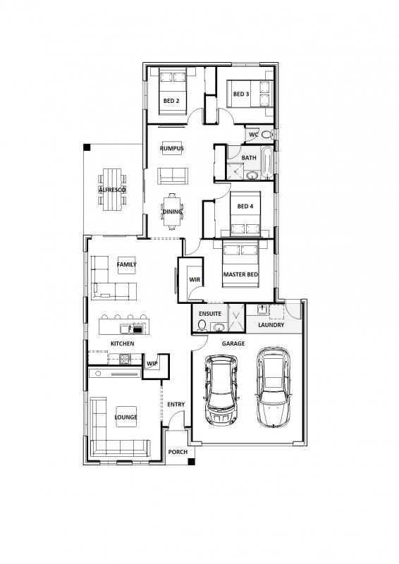 Blue Flax 23 Floorplan