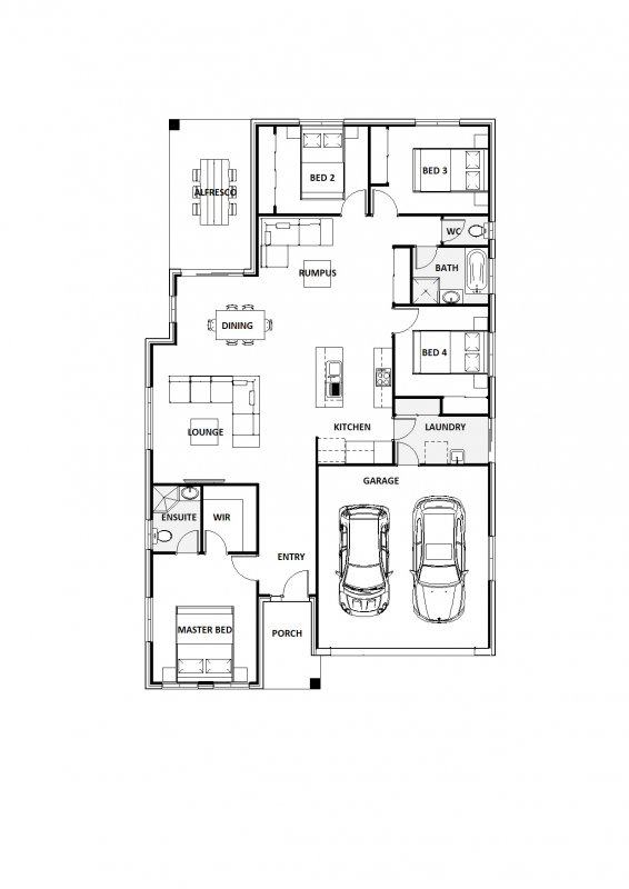Blue Ginger 22 Floorplan