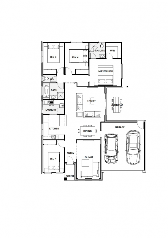 Blue Spruce 21 Floorplan