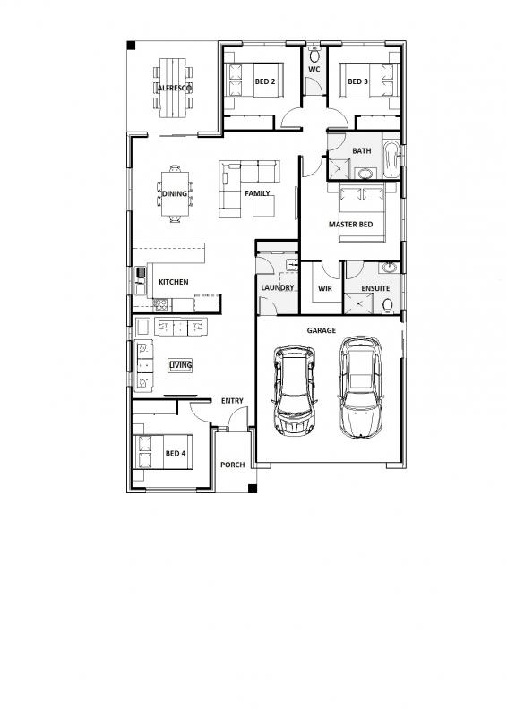 Blue Taro 23 Floorplan
