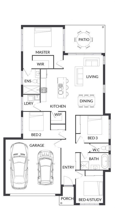 Blue Elkhorn 19 Floorplan