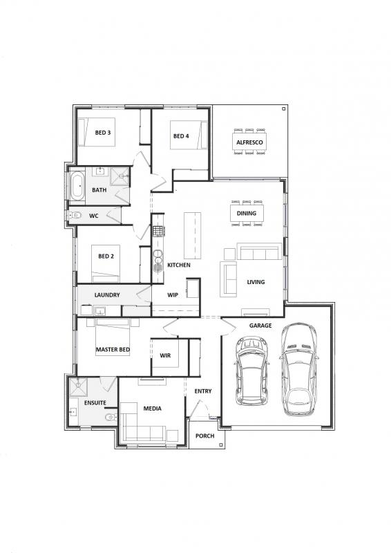 Blue Gravillea 25 Floorplan