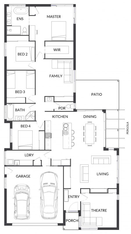Blue Waratah 26 Floorplan