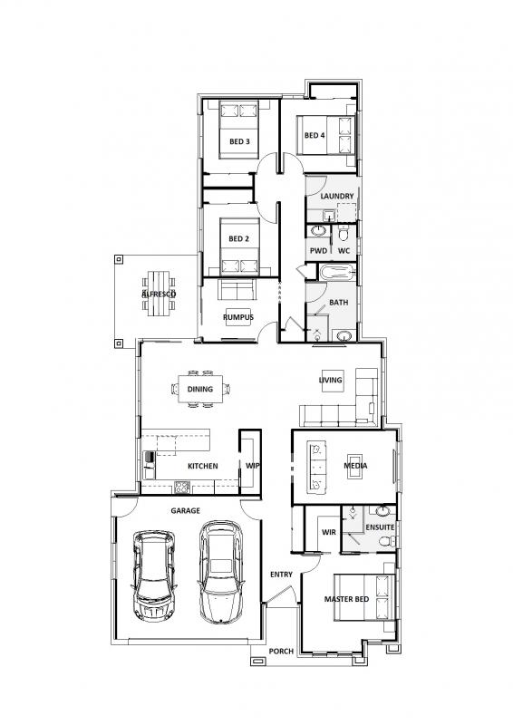 Blue Dubuji 24 Floorplan