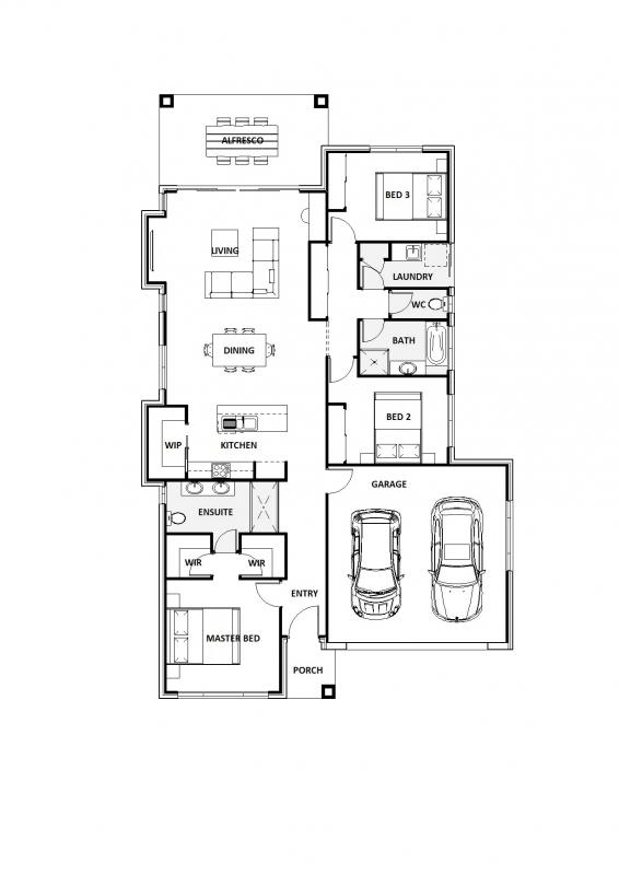 Blue Millstream 22 Floorplan