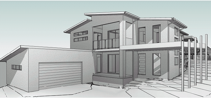 Home Builders Coomera delivering a sloping block home design proposal